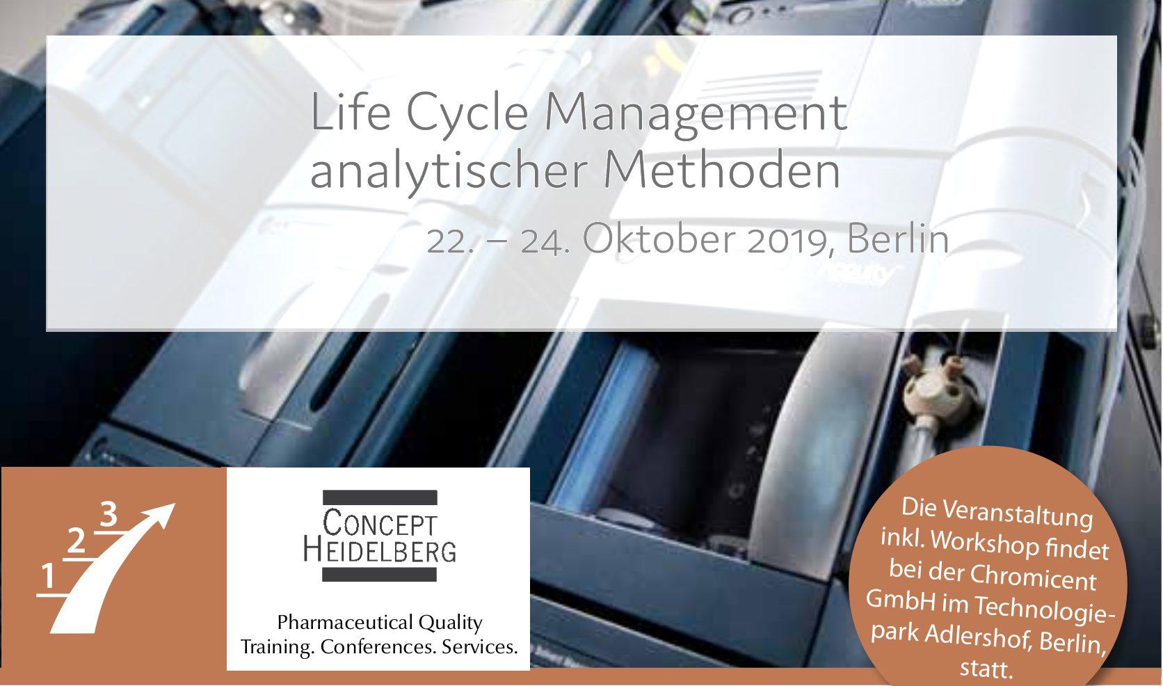 Life Cycle Management analytischer Methoden 2019